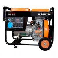 Дизельный электрогенератор Daewoo DDAE 6100XE